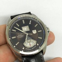 TAG Heuer Grand Carrera Stål 43mm Brun
