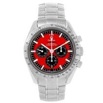 Omega Speedmaster Schumacher Red Dial Limited Edition Watch...