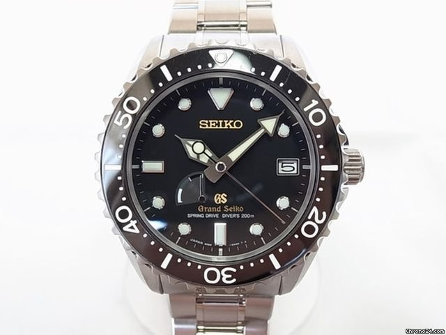 best website ba852 b2cd1 Seiko Grand Seiko Master shop limited titanium diver SBGA 031