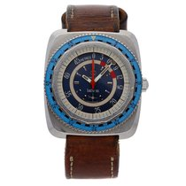 Favre-Leuba 48mm Automatic pre-owned Blue