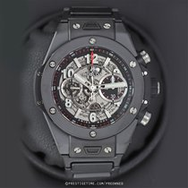 Hublot Ceramic Automatic Transparent 45mm pre-owned Big Bang Unico
