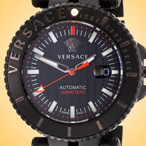 Versace 46mm Automatic new Black