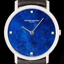 Vacheron Constantin Aur alb Armare manuala Albastru Fara cifre 31mm folosit