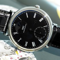 IWC Portofino Hand-Wound Steel 46mm Black