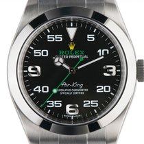 Rolex Air King neu Automatik Uhr mit Original-Box und Original-Papieren 116900