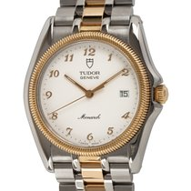 Tudor Monarch Gold/Steel 35mm White Arabic numerals United States of America, Texas, Austin