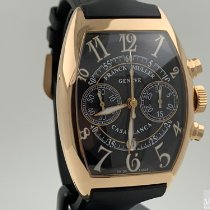 Franck Muller Rose gold Automatic Black Arabic numerals 39mm pre-owned Casablanca