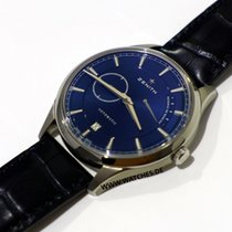 Zenith Elite Power Reserve Titan 40mm Plav-modar