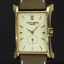 Cuervo y Sobrinos pre-owned Manual winding 30mm Champagne