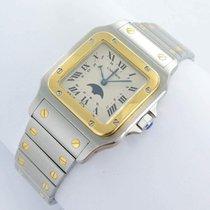 Cartier Santos Galbée 119901 1989 подержанные