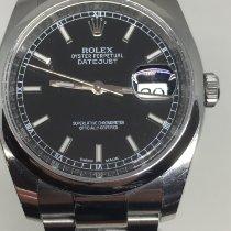 Rolex Datejust Acier 36mm Noir France, annecy