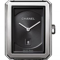 Chanel Boy-Friend Steel 26.7mm Black United States of America, New York, Airmont