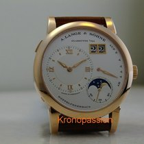 A. Lange & Söhne Rose gold Manual winding White Roman numerals 38.5mm new Lange 1