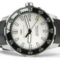 IWC Aquatimer 2000 White Dial Rubber Strap 44mm IW356809...
