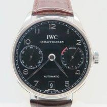 IWC Portuguese 7 Days Black Dial Ref. IW500109