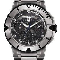 Harry Winston Ocean Sport Chronograph Zalium Men`s Watch