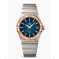 Omega Constellation  Stainless Steel -  Red Gold Mens watch...