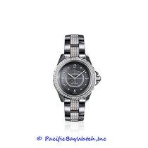 Chanel Titanium Automatic Grey Arabic numerals 38mm new J12