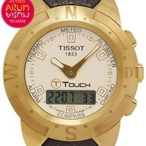 Tissot Yellow gold Quartz 41mm pre-owned Touch