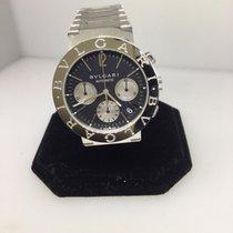 Bulgari Automaticchonograph Men's Watch Bb38ssdch New $6,800...