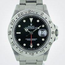 Rolex Explorer II, Ref 16570, GMT, Stainless Steel, Black, 1995