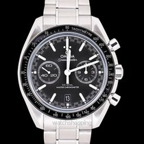 Omega Speedmaster Master Chronometer Chronograph Black Steel...