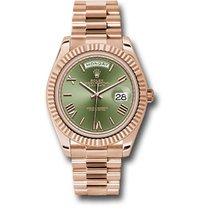 Rolex Day-Date 40 neu Automatik Uhr mit Original-Box und Original-Papieren 228235 ogrp