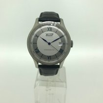 Tissot Steel 40mm Automatic T66.1.725.33 pre-owned