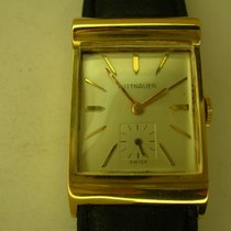 Wittnauer Yellow gold Manual winding White No numerals 21mm pre-owned