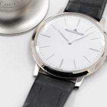 Jaeger-LeCoultre White gold Manual winding White No numerals 39mm pre-owned Master Ultra Thin