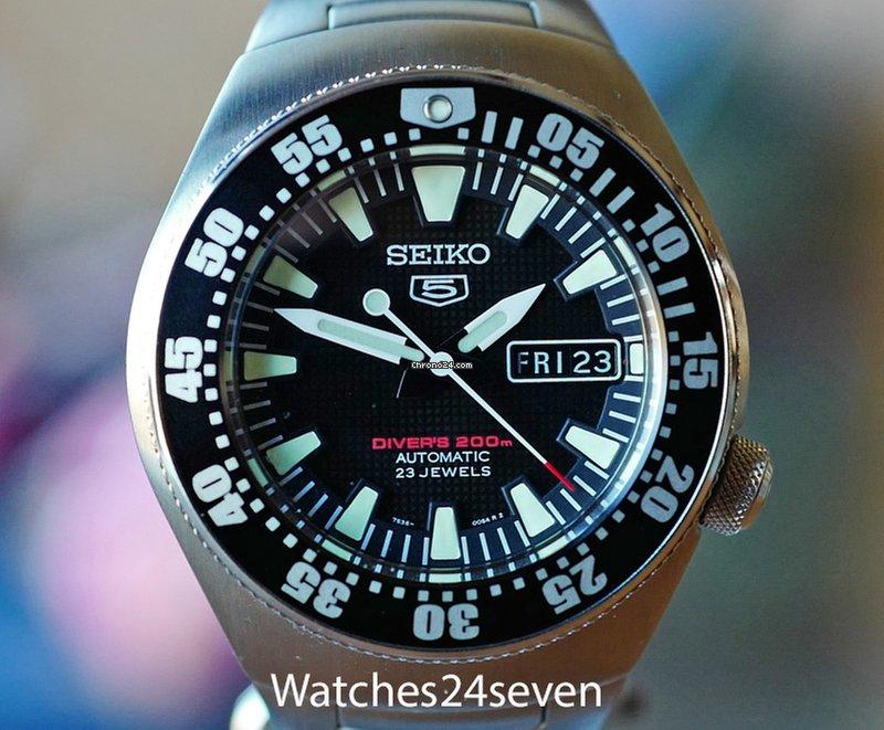 ee66116ea Seiko 5 - all prices for Seiko 5 watches on Chrono24