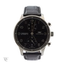 IWC Portuguese Chronograph pre-owned Steel