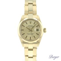 Rolex Oyster Perpetual Lady Date Oro amarillo 26mm Oro