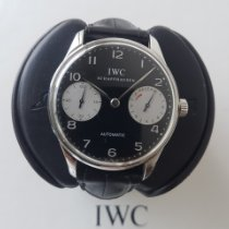 IWC Portuguese (submodel) Steel 42mm Black Arabic numerals UAE, Dubai
