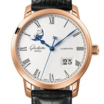 Glashütte Original Senator Panorama Date Moon Phase Rose gold 40mm White Roman numerals United States of America, Florida, Miami