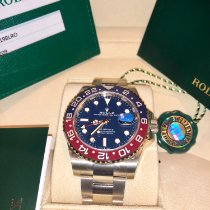 Rolex White gold Automatic Blue 40mm new GMT-Master II