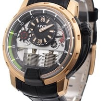 HYT pre-owned Manual winding 48.8mm Black