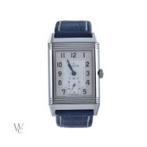 Jaeger-LeCoultre Grande Reverso 976 pre-owned 30mm Silver Leather