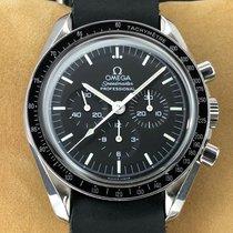 Omega Speedmaster Professional Moonwatch подержанные 42mm Чёрный Хронограф Сталь