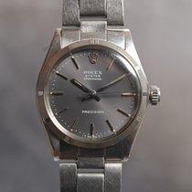 Rolex Oyster Precision Steel 31mm Grey