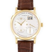 A. Lange & Söhne Lange 1 Yellow gold 38.5mm Silver United States of America, California, Beverly Hills