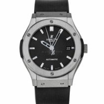 Hublot Classic Fusion 45, 42, 38, 33 mm pre-owned 45mm Black Rubber