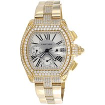 Cartier Roadster 2619 Very good Yellow gold 48mm Automatic