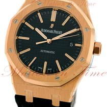 Audemars Piguet 15400OR.OO.D002CR.01 Rose gold Royal Oak Selfwinding 41mm pre-owned United States of America, New York, New York