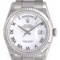 Rolex President Men's - Day-Date Watch 18239 White Dial