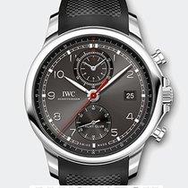 IWC Portoghese Yacht Club Chronograph T Ardoise Dial