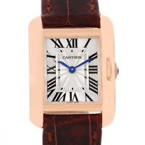Cartier Tank Anglaise 18k Rose Gold Small Ladies Watch W5310027