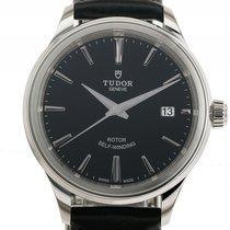 Tudor Style Stahl Automatik Armband Leder 38mm
