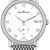 Blancpain Villeret Ultra-Slim Steel 40mm White United States of America, New York, Airmont