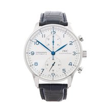 IWC Portuguese Chronograph Stainless Steel Men's IW371446 - W4913